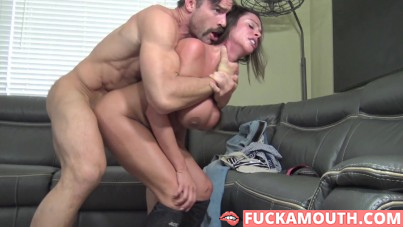 a fully submissive Colombian pornstar