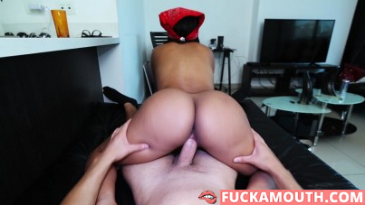big ass Colombian maid