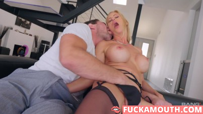 busty MILF in hard porn action