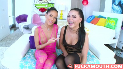 true anal with Adriana Chechik and Megan Rain